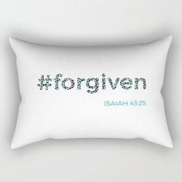 I am #forgiven Rectangular Pillow