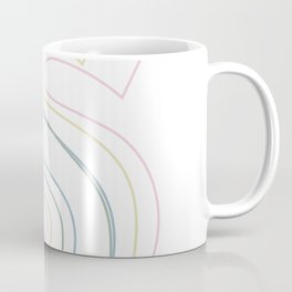 Intertwined Strength and Elegance of the Letter S Coffee Mug