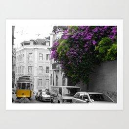 Lisboa Art Print