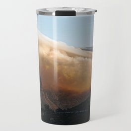 Crowned in clouds Travel Mug