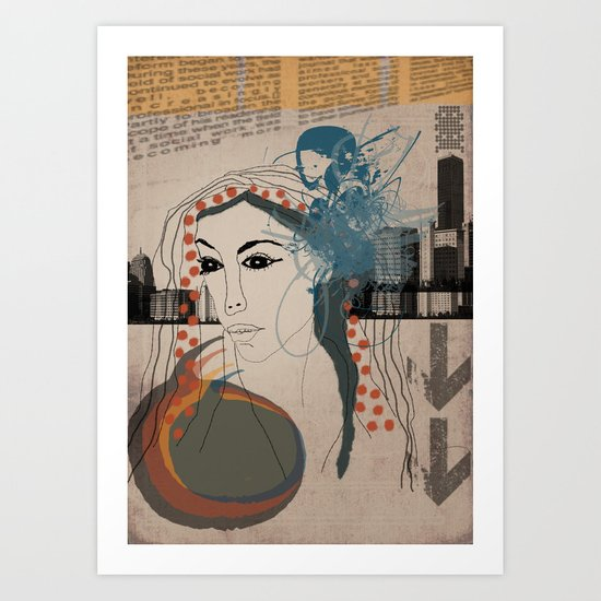 126 Art Print