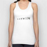 darwin Tank Tops featuring Darwin by Kapil Bhagat