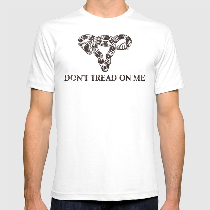 Dont Tread On Me sepia T-Shirt