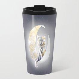 Lunatic cat Travel Mug