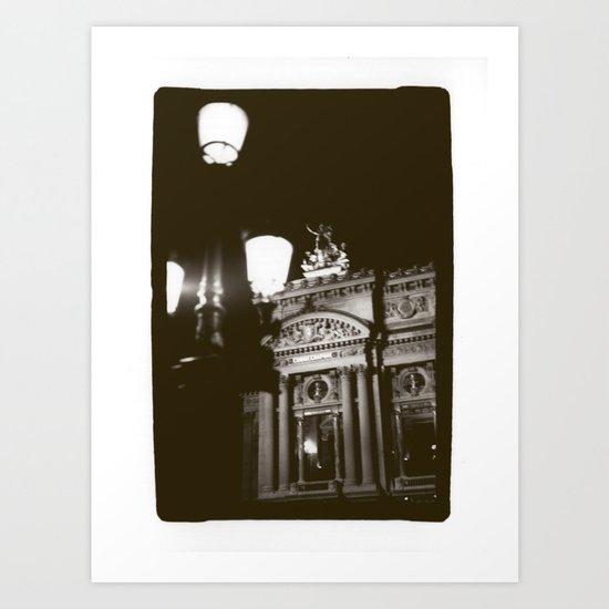 Paris Opera Art Print