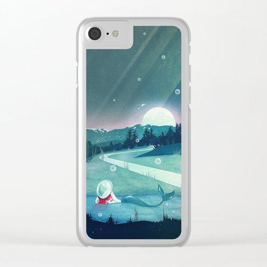 A Mermaid's Dream Clear iPhone Case