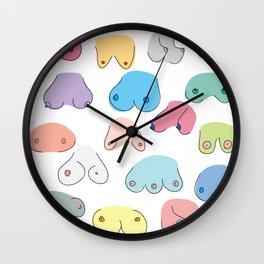 Boobies Wall Clock