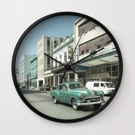 Havana Pontiac Wall Clock