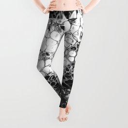 Cells - Black & White Leggings