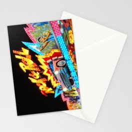 Rock & Roll on the midway! Stationery Cards