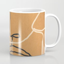 Abstract Face 6 Coffee Mug
