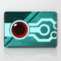 transistor iPad Cases featuring The Paintbrush by Grimaldo