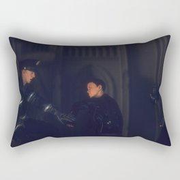 Day 0727 /// Commercial Break/The revolution will not be snapped Rectangular Pillow