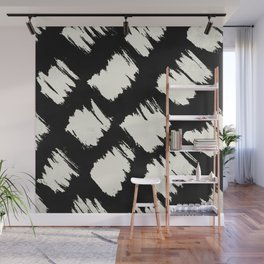 Tribal Brushed Dot Wall Mural