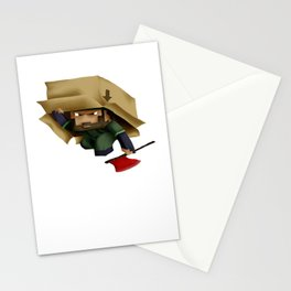 Solid Stobo Avatar Stationery Cards