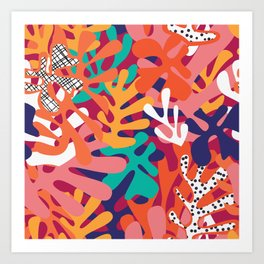 Matisse Pattern 006 Art Print