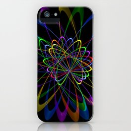 Abstract perfektion 79 iPhone Case
