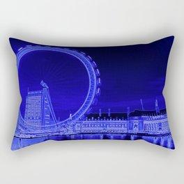 London Eye and The Southbank Rectangular Pillow