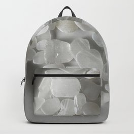 White on White on White Backpack