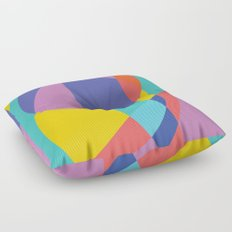 Geometric Beach Ball 2 Floor Pillow
