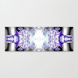 Kaleidoscope Icicle Abstract Art Canvas Print