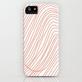 My hair on a good day iPhone Case