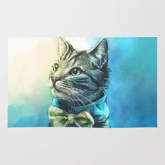 Handsome Cat Rug