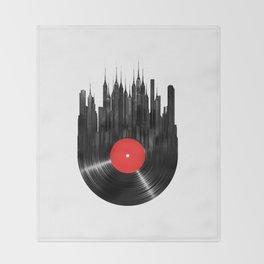Urban Vinyl Throw Blanket
