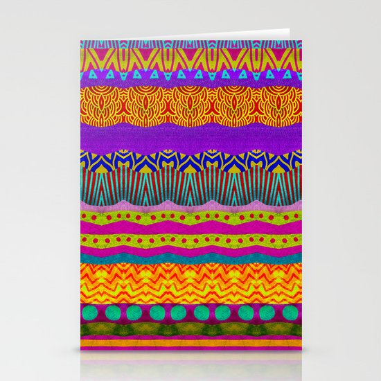 Earth Layers Stationery Cards