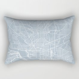 Washington DC Map, USA - Slate Rectangular Pillow