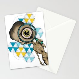 Aliens Are Watching Stationery Cards