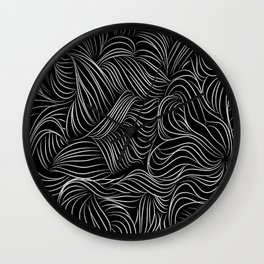 Hair Ink Wall Clock
