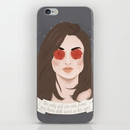 Allison Argent iPhone Skin