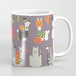 Halloween llama Coffee Mug