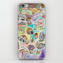 Wild Mushrooms iPhone Skin