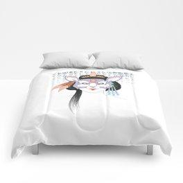 Kitsune, Geisha Mask Comforters