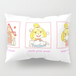 wash your paws Pillow Sham