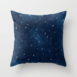 Whispers in the Galaxy Throw Pillow