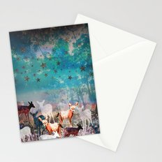 Deer Enchanted Forest  Stationery Cards