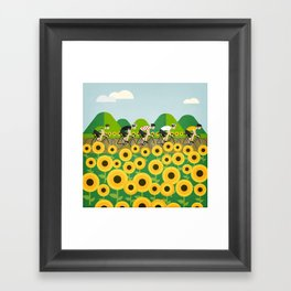 Le Tour I Framed Art Print