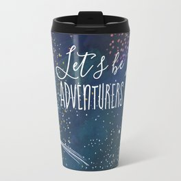 Let´s be adventurers Travel Mug