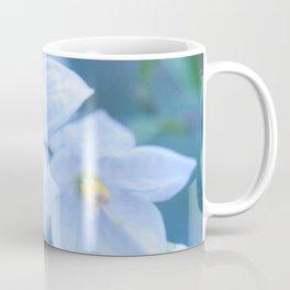 Jasmine Nightshade Flowers #1 #floral #art #society6 Coffee Mug
