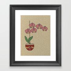 orchid nr2 Framed Art Print