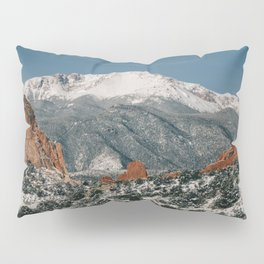 Snowy Mountain Tops Pillow Sham