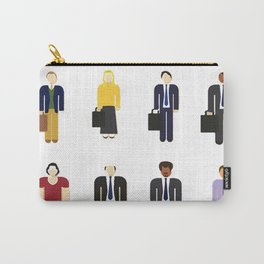The Office Characters Carry-All Pouch