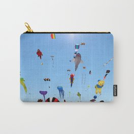 Kites over Lake Michigan Carry-All Pouch