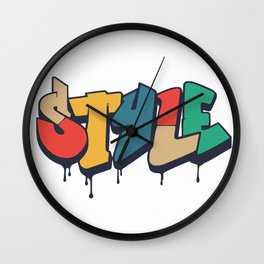 In style Wall Clock