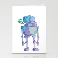 giants Stationery Cards featuring Stone Giants by Emily Joan Campbell