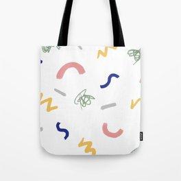 Trueno y hierba Tote Bag