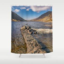 Llyn Cowlyd Snowdonia Shower Curtain